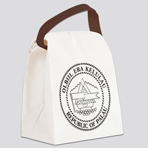 Palau Coat Of Arms Canvas Lunch Bag