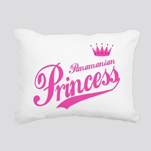 Panamanian Princess Rectangular Canvas Pillow