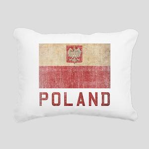 Vintage Poland Rectangular Canvas Pillow