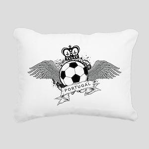 Portugal Football Rectangular Canvas Pillow