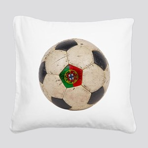 Portugal Football Square Canvas Pillow