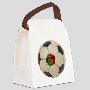 Portugal Football Canvas Lunch Bag
