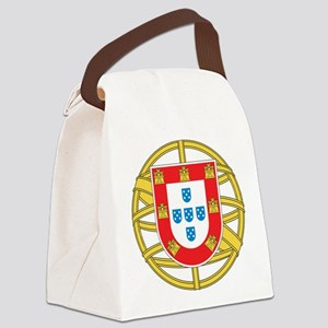 Portugal Coat Of arms Canvas Lunch Bag