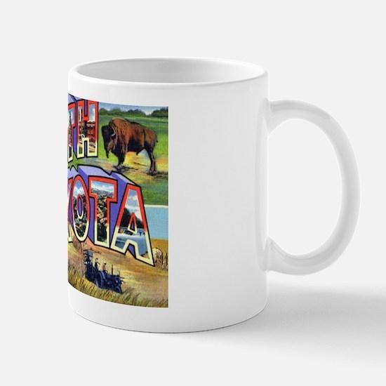 North Dakota Greetings Mug
