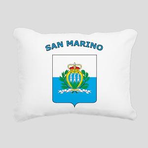 Stylish San Marino Rectangular Canvas Pillow