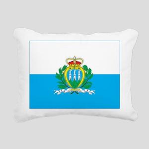 San Marino Rectangular Canvas Pillow