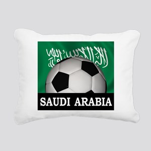 Football Saudi Arabia Rectangular Canvas Pillow