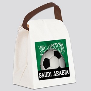 Football Saudi Arabia Canvas Lunch Bag