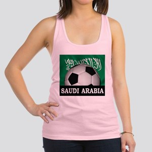 Football Saudi Arabia Racerback Tank Top