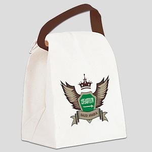 Saudi Arabia Emblem Canvas Lunch Bag