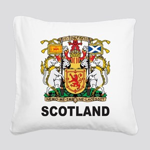 Scotland Square Canvas Pillow