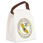 Custom Mission Bell OES Canvas Lunch Bag