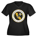 Custom Mission Bell OES Women's Plus Size V-Neck D