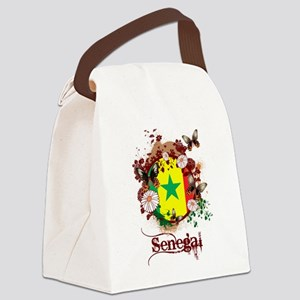 Butterfly Senegal Canvas Lunch Bag