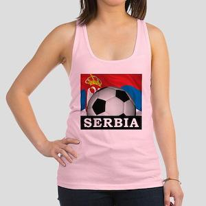 Football Serbia Racerback Tank Top