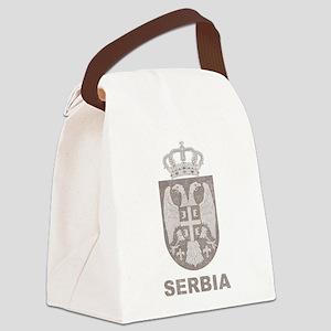Vintage Serbia Canvas Lunch Bag
