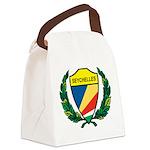 Stylized Seychelles Canvas Lunch Bag