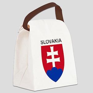 Slovakia Canvas Lunch Bag
