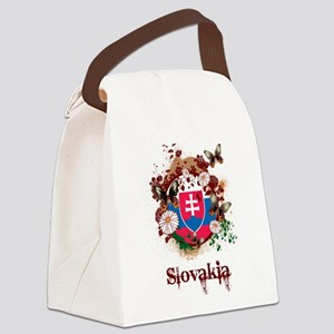 Butterfly Slovakia Canvas Lunch Bag