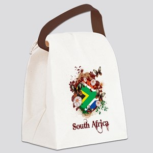 Butterfly South Africa Canvas Lunch Bag