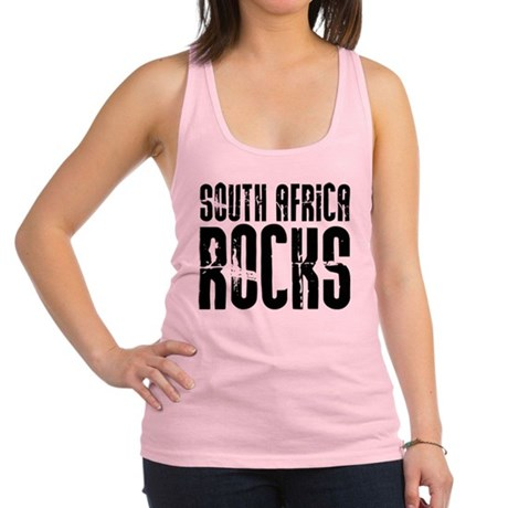 South Africa Rocks Racerback Tank Top