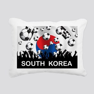 South Korea Football Rectangular Canvas Pillow