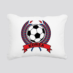 Football Korea Rectangular Canvas Pillow