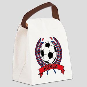 Football Korea Canvas Lunch Bag