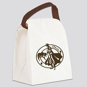 Spain Bullfighting Canvas Lunch Bag