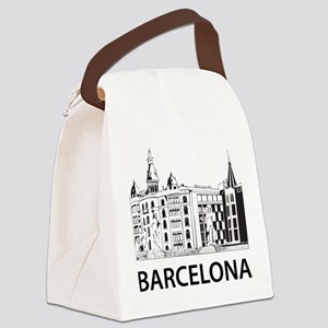 Barcelona Canvas Lunch Bag