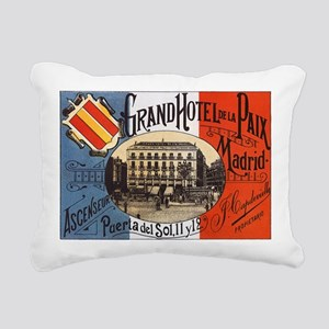 Madrid Rectangular Canvas Pillow