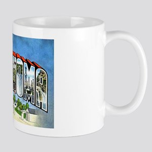 Oklahoma Greetings Mug