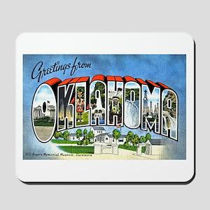 Oklahoma Greetings Mousepad