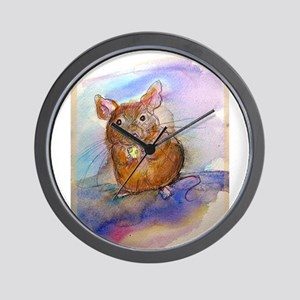 Mouse! Animal art! Wall Clock