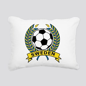 Soccer Sweden Rectangular Canvas Pillow