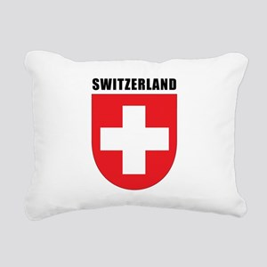 Switzerland Rectangular Canvas Pillow