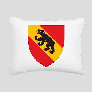 Bern Coat Of Arms Rectangular Canvas Pillow