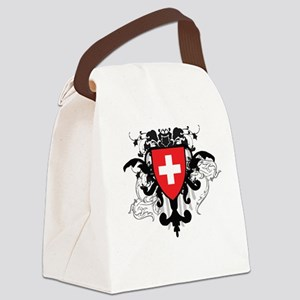 Stylish Switzerland Canvas Lunch Bag