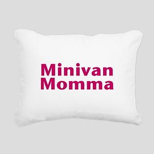 Minivan Momma Rectangular Canvas Pillow