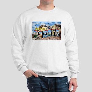 South Dakota Greetings (Front) Sweatshirt