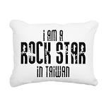 Rock Star In Taiwan Rectangular Canvas Pillow