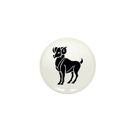 Aries - The Ram Mini Button (10 pack)