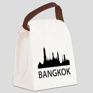Bangkok Skyline Canvas Lunch Bag