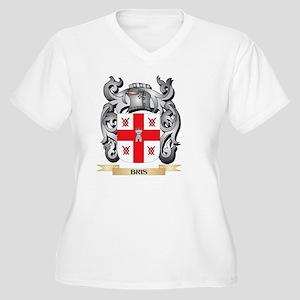 Bris Family Crest - Bris Coat of Plus Size T-Shirt