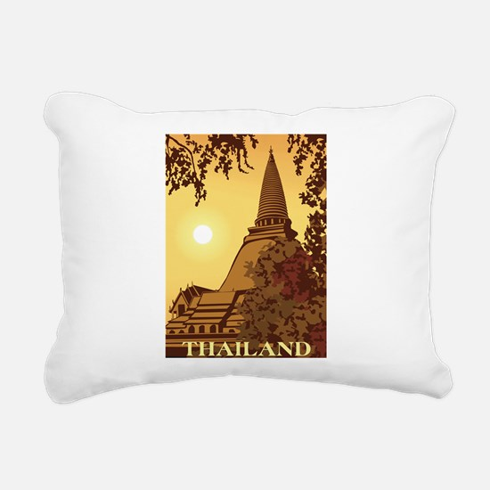 Thailand Rectangular Canvas Pillow