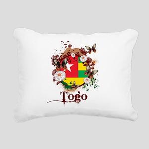 Butterfly Togo Rectangular Canvas Pillow