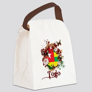 Butterfly Togo Canvas Lunch Bag