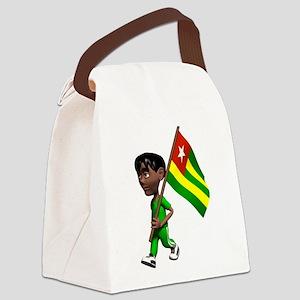 Cute 3D Togo Canvas Lunch Bag