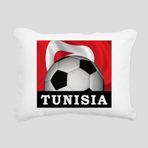 Tunisia Football Rectangular Canvas Pillow