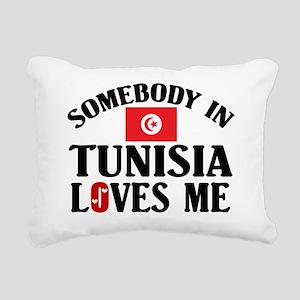 Somebody In Tunisia Rectangular Canvas Pillow